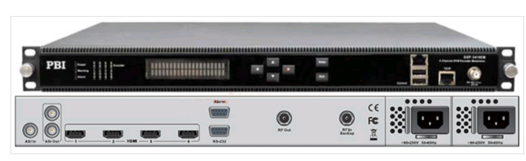 Кодер 4xH.264/HD/SD с 4xSDI/MUX/ASI/IP,AAC и модулятором DVB-C/T - DXP-5410EM-S PBI